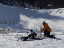 skier shooting at range